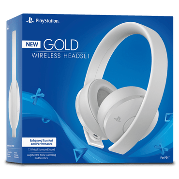 Gold-Headset-White