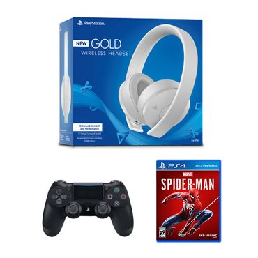 HeadSet--Blanco----Mando---Spiderman