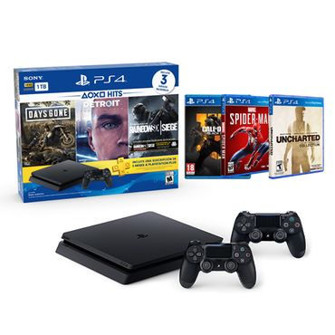 Consola-Hits-Bundle-5---Call-of-Duty-Black-Ops-4---Spiderman---Uncharted-Collection---2Mandos