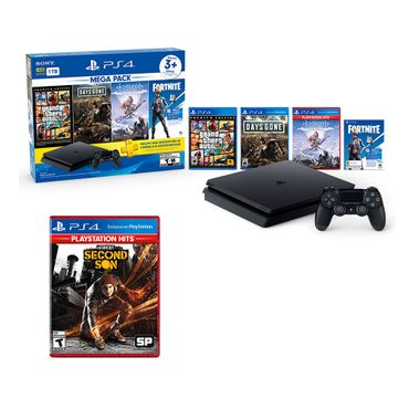 MEGA-PACK-6---PS4-Infamous-Second-Son-God